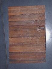 Ebony Autentico Olio di Macassar Set abbinato 3pc Luthier ponte Coltello banche etc