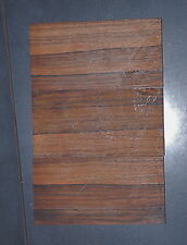 Ébano macassar emparejado conjunto genuino 3pc puente Luthier cuchillo bancos etc.