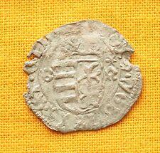 Medieval Silver Coin - Wladislaus Silver Denar 1440-1444. Polish Eagle!