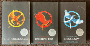 Hunger Games Trilogy Book Set Suzanne Collins Catching Fire Mockingjay Paperback