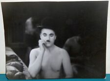 Shirtless Charlie Chaplin Movie Photo by Guy Gillette