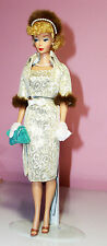 Barbie Doll 2005 Evening Splendor Reproduction Ponytail#1Golden Girl dress coat