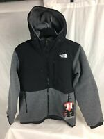 NEW THE NORTH FACE DENALI 2 HOODY JACKET FLEECE CHARCOAL INSULATED MENS S-XXL