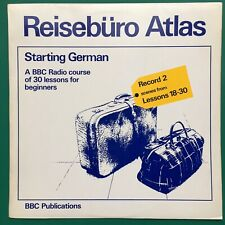 REISEBURO ATLAS Starting German Language Course LP BBC Radio Edith Baer Oldnall