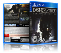 Dishonored: Definitive Edition - ReplacementPS4 Cover and Case. NO GAME!!