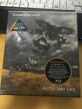 David Gilmour ‎– Rattle That Lock EU CD+Blu-ray Box Set, Deluxe Edition SEALED