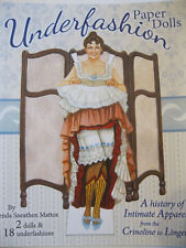 UNDERFASHION Paper Dolls--A History of Intimate Apparel from the 1860s to 2000s