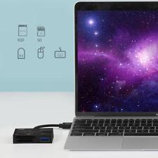 High Speed Professional Type-C SD XQD Card Reader USB 3.0 Adapter USB Type C Hub