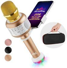 Karaoking Wireless Bluetooth Karaoke Microphone - Gold - Holiday Gift