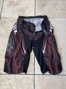 Fox Racing Shorts Hose Herren Gr. 30 Braun Mtb Downhill Freeride Bikepark