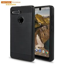 Essential Phone PH-1 Case, with Screen Protector(VGC Black + SP)