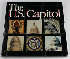 1994 US Bicentennial The U.S. Capitol Commemorative Proof Silver Dollar - (A229)