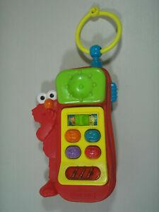 Vintage Tyco Preschool Sesame Street Softy Sounds Phone Toy Elmo Sounds & Lights