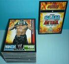 Topps WWE Wrestling Trading Cards *SLAM ATTAX* 2008 KOMPLETT 127 Karten wwf nxt