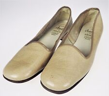8.5B Amalfi by Rangori Beige Tan Vtg 60s Classic Pumps Slip On Shoes