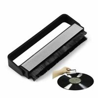 Anti-static Vinyl Record LP Carbon Fibre (Fiber) Record Cleaner Cleaning Brush a