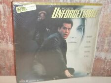 UNFORGETTABLE - LASERDISC LD Deluxe LETTER-BOX EDITION - Ray Liotta AC3 DOLBY