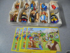 Kinder Surprise set Asterix and the Vikings 2007 Obelix Miraculix Olaf