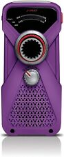 Dynamo radio frx1 violet soulra avec LED Lampe dynamo radio handdynamo manivelle radio