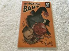 THE BOXING BABY 1 Signed  R. LOPEZ  Crude  comic book