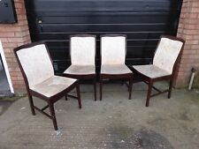 4 Stag Meredew Mahogany Dining chairs