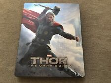 Thor: The Dark World (Blu-ray/3D, 2014, Best Buy Exclusive Steelbook, Rare OOP)