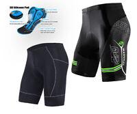 4D Padded Bicycle Shorts for Men Non-slip Band Biking Tight Pants Bottoms M-3XL