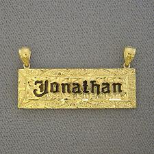 Hawaiian Solid 14k Yellow Gold Name Pendant Handmade Jewelry SP4