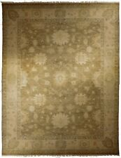 """Hand knotted Indian rug. 9'3""""x 12'"""