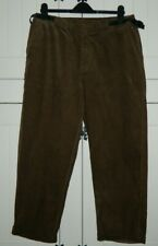 ASOS Ladies Plus Size Brown Casual Cords Size UK 18 - BNWT
