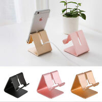 Universal Aluminum Cell Phone Desk Stand Holder for Samsung iPhone Tablet UK