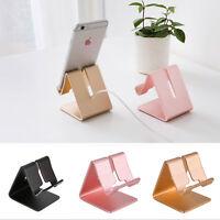 Universal Aluminum Cell Phone Desk Stand Holder for Samsung iPhone Tablet UK