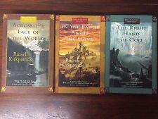 RUSSELL KIRKPATRICK FIRE OF HEAVEN BOOK 1 2 3 1ST EDITION Across Face World VG+