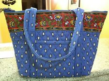 Vera Bradley Rare Retired French Blue Paddy Bag!