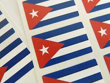 Autocollant Mini Pack, les étiquettes Autocollantes Drapeau Cuba, FR104