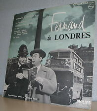 33 Rpm 25 cm Fernand Raynaud Vinyl N°3 a London - Philips 76455