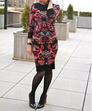McQ Alexander McQueen Intarsia Knit Dress Size 44 $650
