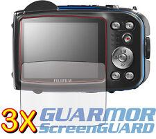3x Clear LCD Screen Protector Guard Fujifilm FinePix FinePix XP50 XP55 XP20