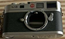 Leica M8 CCD Silver Digital Rangefinder Camera