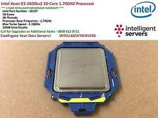 Intel Xeon E5-2650Lv2 10-Core 1.70GHZ Processor ** SR19Y **
