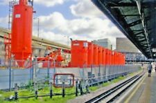 PHOTO  WORK ON CROSSRAIL BESIDE WESTWAY AND ROYAL OAK RAILWAY STATION 2010 VIEW