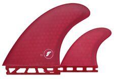 Futures Fins FT1 HC Thruster Set in Dark Red