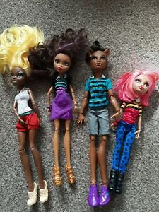 Monster High  Pack Of Trouble Wolf Family Great Condition 💕