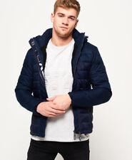 Superdry Mens Fuji Mix Double-Zip Hooded Jacket