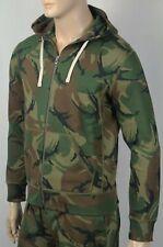 Polo Ralph Lauren Camouflage Camo Hoodie Full Zip Sweatshirt NWT