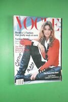 Vogue US August 1993 Cindy Crawford Christy Turlington Naomi Campbell Revista
