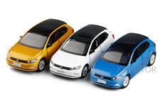 1/32 Jackiekim VW POLO PLUS Diecast MODEL CAR Toys kids Gifts Blue/White/Gold
