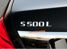 E797 S 500L Emblem Badge auto aufkleber 3D Schriftzug car Sticker S50 S 500
