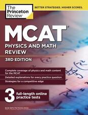 Graduate School Test Preparation: MCAT Physics and Math Review, 3rd Edition...