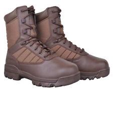 BATES PATROL MALE BROWN MILITARY ARMY FOOTWEAR WORK COMBAT BOOT SIZE 9 MEDIUM